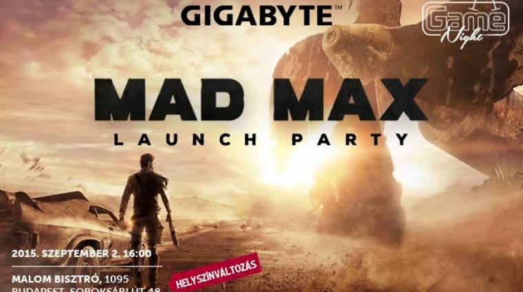 GameNight - próbáld ki a Mad Maxet a Gigabyte csúcsgépén, vagy vigyél haza egy alaplapot! bevezetőkép