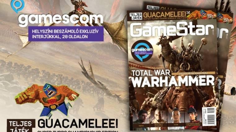 Gamescom, orkok és forradalmárok a 2015/08-as GameStarban bevezetőkép