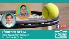 Kérdések Órája - most Istitől kérdezhettek, a téma ezúttal a tenisz lesz kép