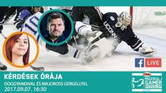 Kérdések Órája - DoggyAndit és a Mac Budapest vezetőedzőjét kérdezhetitek a jégkorongról kép
