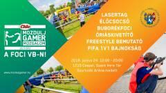 Élőcsocsó és buborékfoci vár a következő Mozdulj Gameren, ahol a foci vb meccseit is nézheted kép