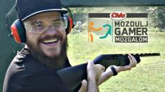 Bitang lőfegyvereket próbált ki Videojáték Zsolti kép