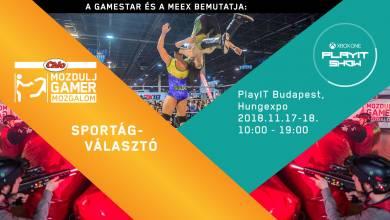 Ha sietsz, akkor még téged is ingyen kivisz a Mozdulj Gamer a budapesti PlayIT-re!