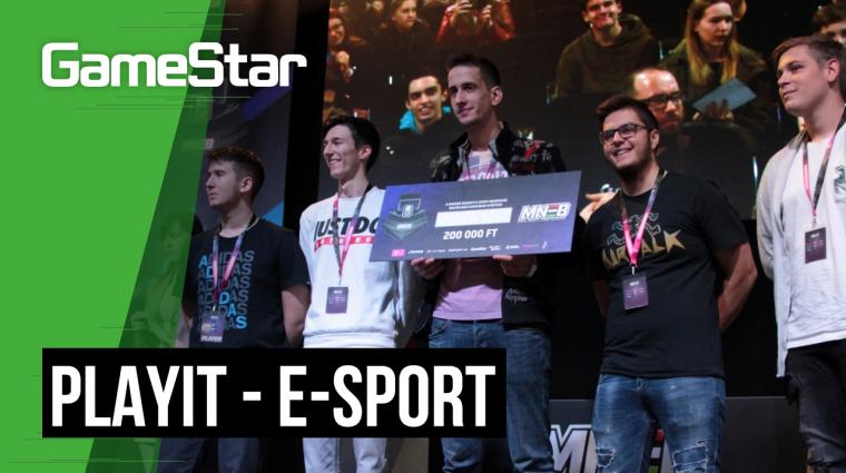A sportban tanult alázat segítette a PlayIT e-sport bajnokait bevezetőkép