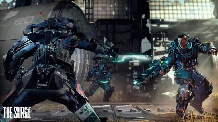 The Surge - negyedóra játékmenet a brutális sci-fi RPG-ből bevezetőkép