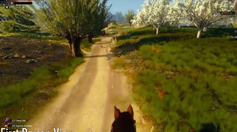 The Witcher 3: Wild Hunt mod - szeretnél belső nézetben lovagolni? bevezetőkép
