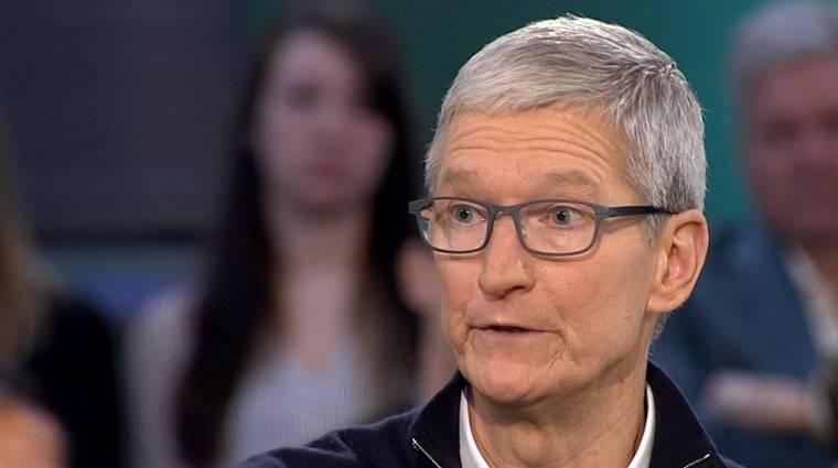 27 milliárd dollárt radíroztak le az Apple piaci értékéből kép