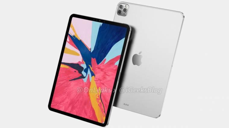 A jövő hónapban mutatkozhat be az új, 12 hüvelykes Apple iPad Pro kép