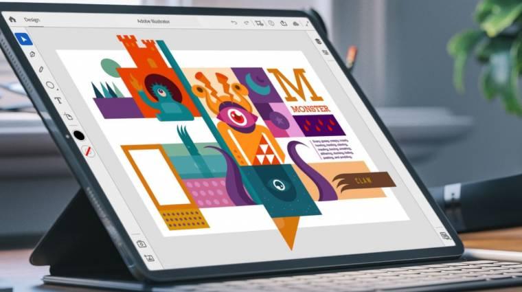 Idén jön az iPadekre az Illustrator kép