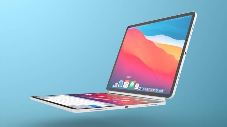Két iPadet kapcsolhat össze laptoppá az Apple kép