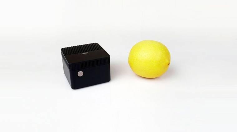 A Chuwi mini gépe lehet a világ legkisebb PC-je, és még olcsó is kép
