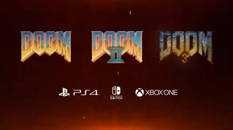 Fontos frissítést kapott a két klasszikus Doom rész bevezetőkép