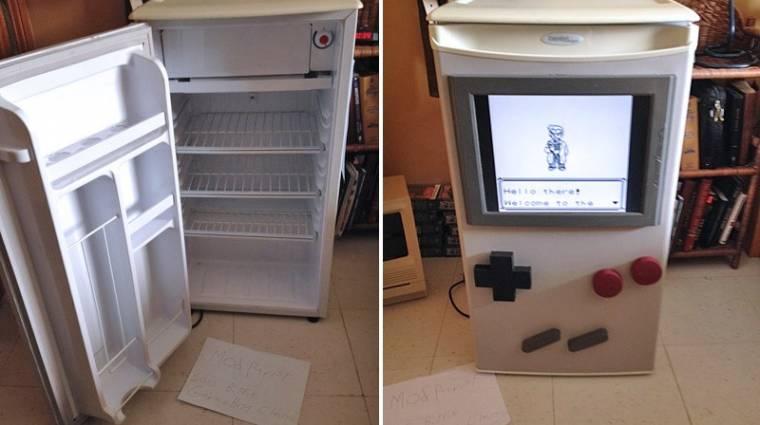Így lesz egy hűtőből működő Game Boy (videó) bevezetőkép