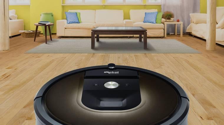 Itt a robotporszívó, amitől tényleg tiszta lesz a lakás kép