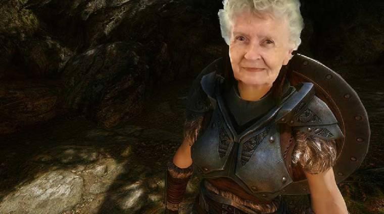 Saját modot kapott a Skyrimező nagymama, már hozzád is csatlakozhat a játékban bevezetőkép
