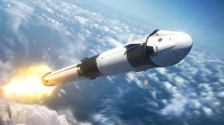 Itt követheted élőben, ahogy a SpaceX embert küld az űrbe (remélhetőleg) kép