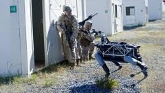 Négylábú harci robotot fejleszt a Google kép