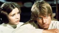 Star Wars VIII - Carrie Fisher és Mark Hamill a forgatáson kép