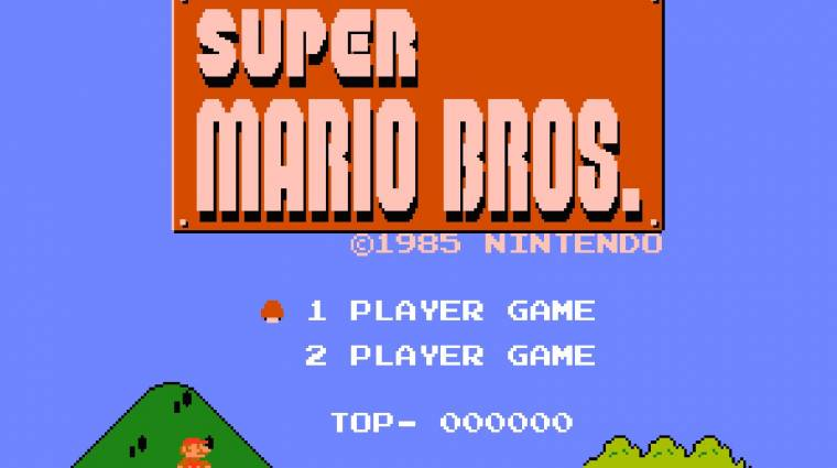 Super Mario Bros. - megdőlt a speedrun világrekord bevezetőkép