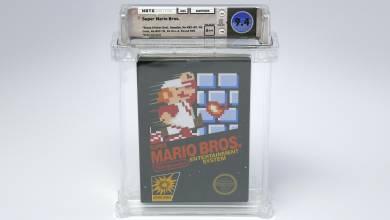 Több mint 100 000 dollárért kelt el ez a Super Mario Bros. példány