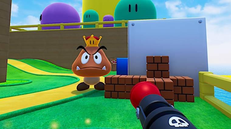 Ilyen lenne a Super Mario Bros. FPS játékként, Unreal motorral bevezetőkép
