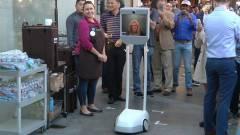 Robotot küldött maga helyett iPhone-t vásárolni kép