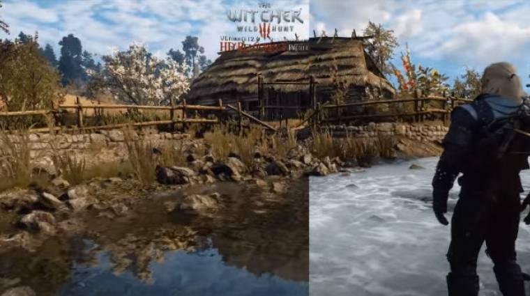 Ezzel a moddal még brutálisabb grafikát hozhatsz ki a The Witcher 3-ból bevezetőkép