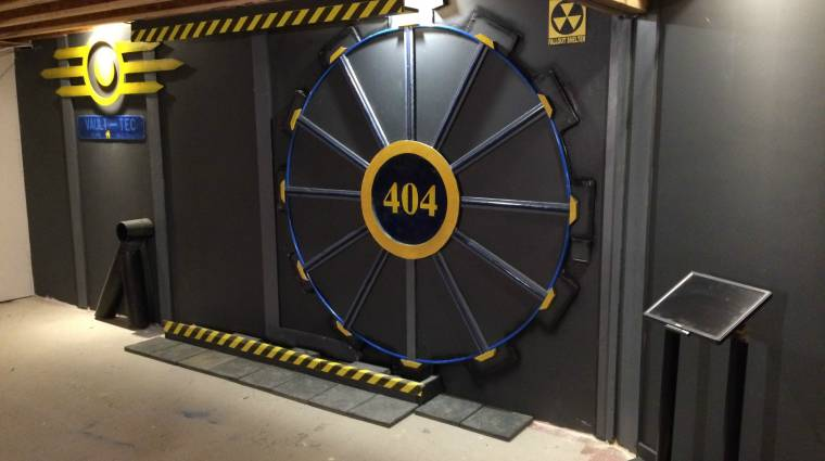 Egy Fallout rajongó megépített otthon egy igazi Vault-Tec ajtót bevezetőkép