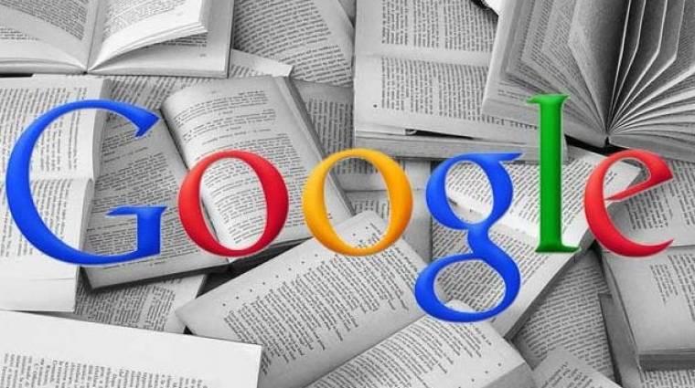 Legális a Google internetes könyvtára kép