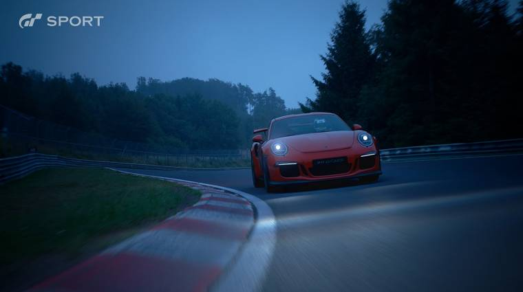 Az év legjobban nyitó autós címe lett a Gran Turismo Sport bevezetőkép