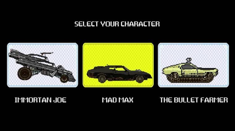 Így fest a Mad Max: A harag útja 8-bites játékként bevezetőkép
