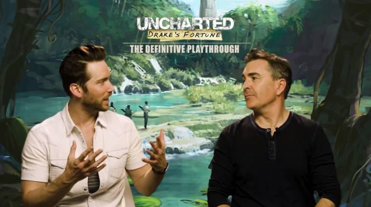 Nem sok jobb tartalom van a neten annál, ahogy Nolan North és Troy Baker az Uncharteddel játszanak bevezetőkép
