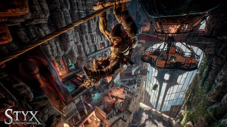 Styx: Shards of Darkness - új képeken a lopakodós játék folytatása bevezetőkép