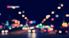 Szenzorok a lámpaoszlopokon kép