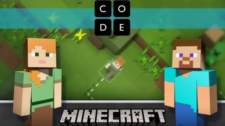 Programozz te is a Minecraft világában bevezetőkép