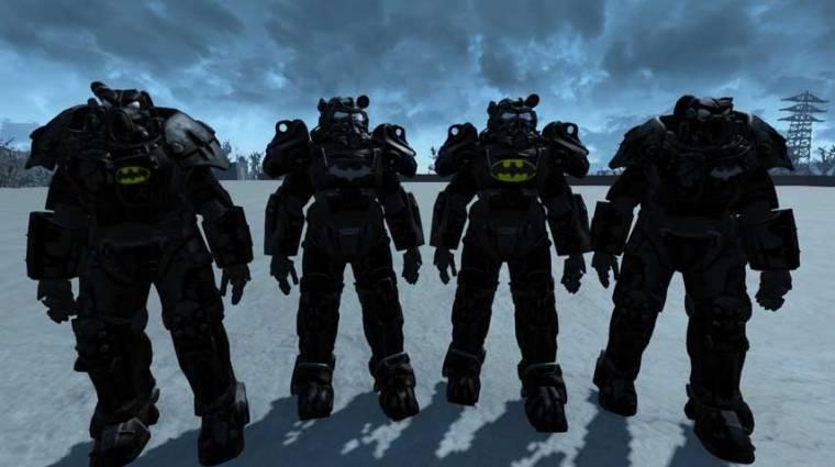 Fallout 4 modok - Batman, Superman és Godzilla is beköszön bevezetőkép