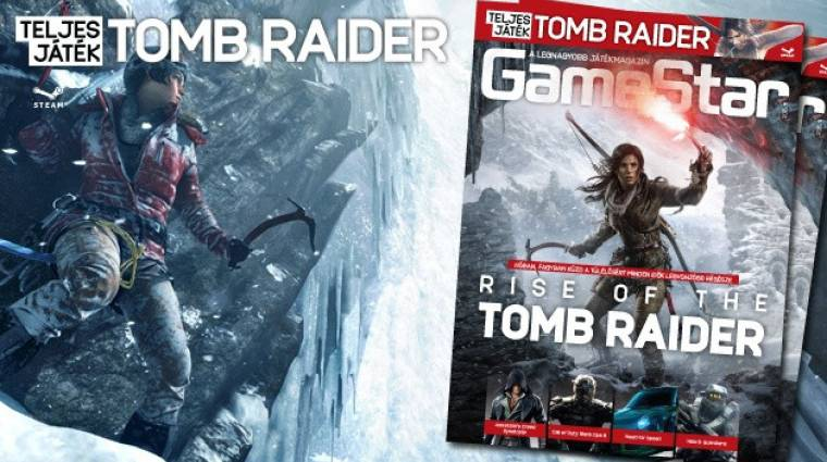 Extra mennyiségű Lara Croft a 2015/11-es GameStarban bevezetőkép