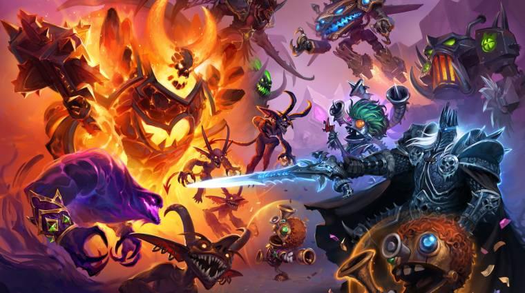 Hearthstone - egész szórakoztatónak tűnik az új játékmód, a Battlegrounds bevezetőkép