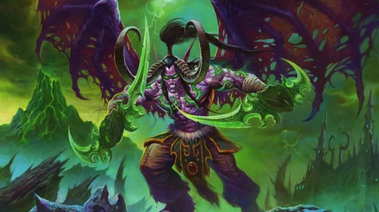 Demon Hunter kaszttal érkezik a Hearthstone következő kiegészítője bevezetőkép