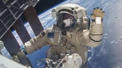 Űrséta: élő közvetítés a Nemzetközi Űrállomásról kép