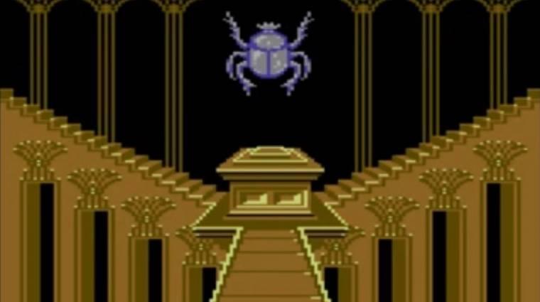 Így készült a Vakondok 4 - ez volt az első 3D labirintus játék C64-re bevezetőkép
