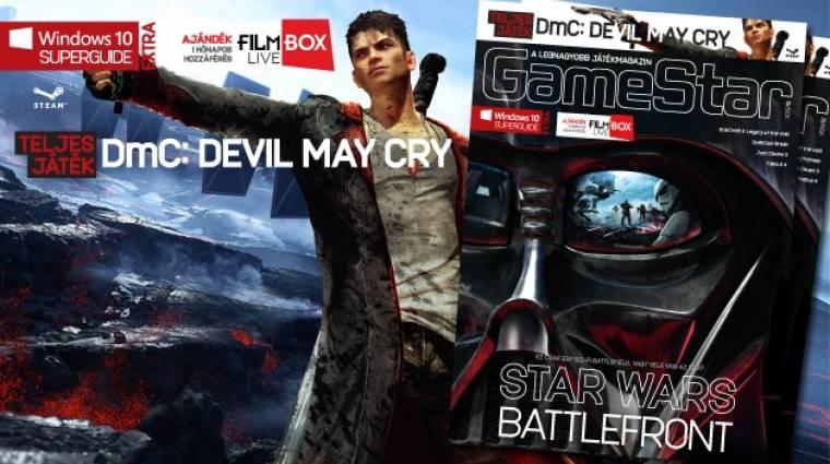 Star Wars és DmC: Devil May Cry a 2015/12-es GameStar magazinban bevezetőkép