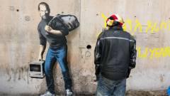 Százmilliós Steve Jobs-graffiti Calaisban kép