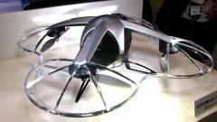 Levadássza a behatolókat a biztonsági drón kép