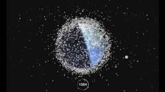Nézze meg a Föld körüli űrszemetet videón kép