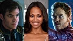 Kirk vagy Star-Lord a jobb kapitány? - Zoe Saldana válasza kép