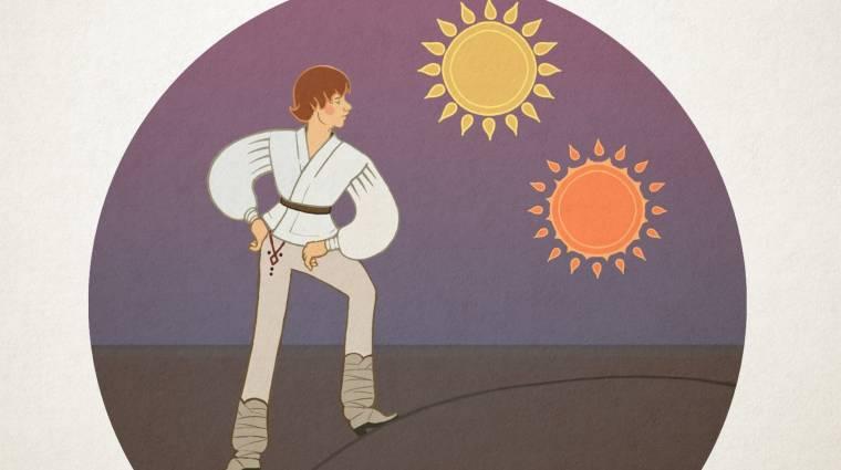 Napi büntetés: így festene a Star Wars Magyar népmeseként bevezetőkép