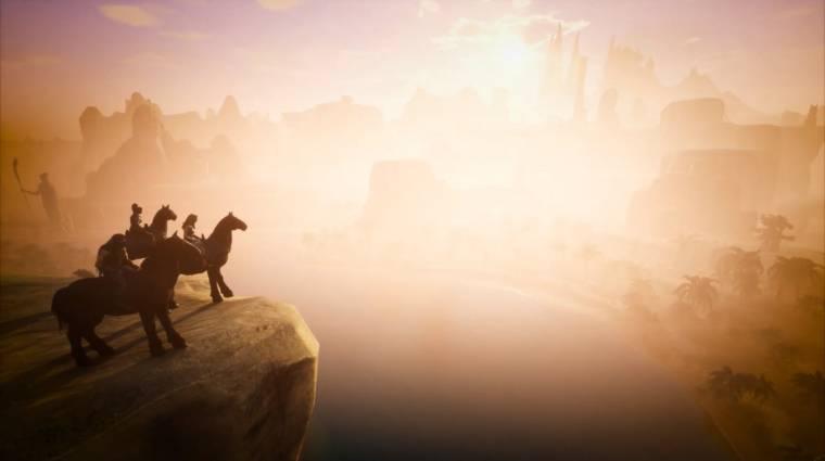 Conan Exiles - jönnek a hátasok bevezetőkép