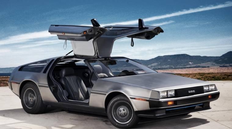 Elektromos autóként születhet újjá a legendás DeLorean kép