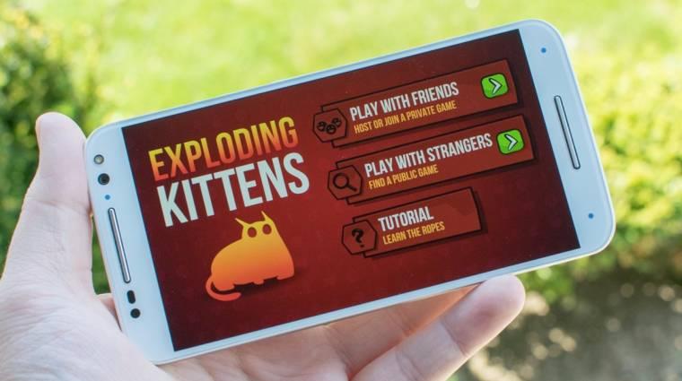 Exploding Kittens - végre megjelent az androidos változat bevezetőkép